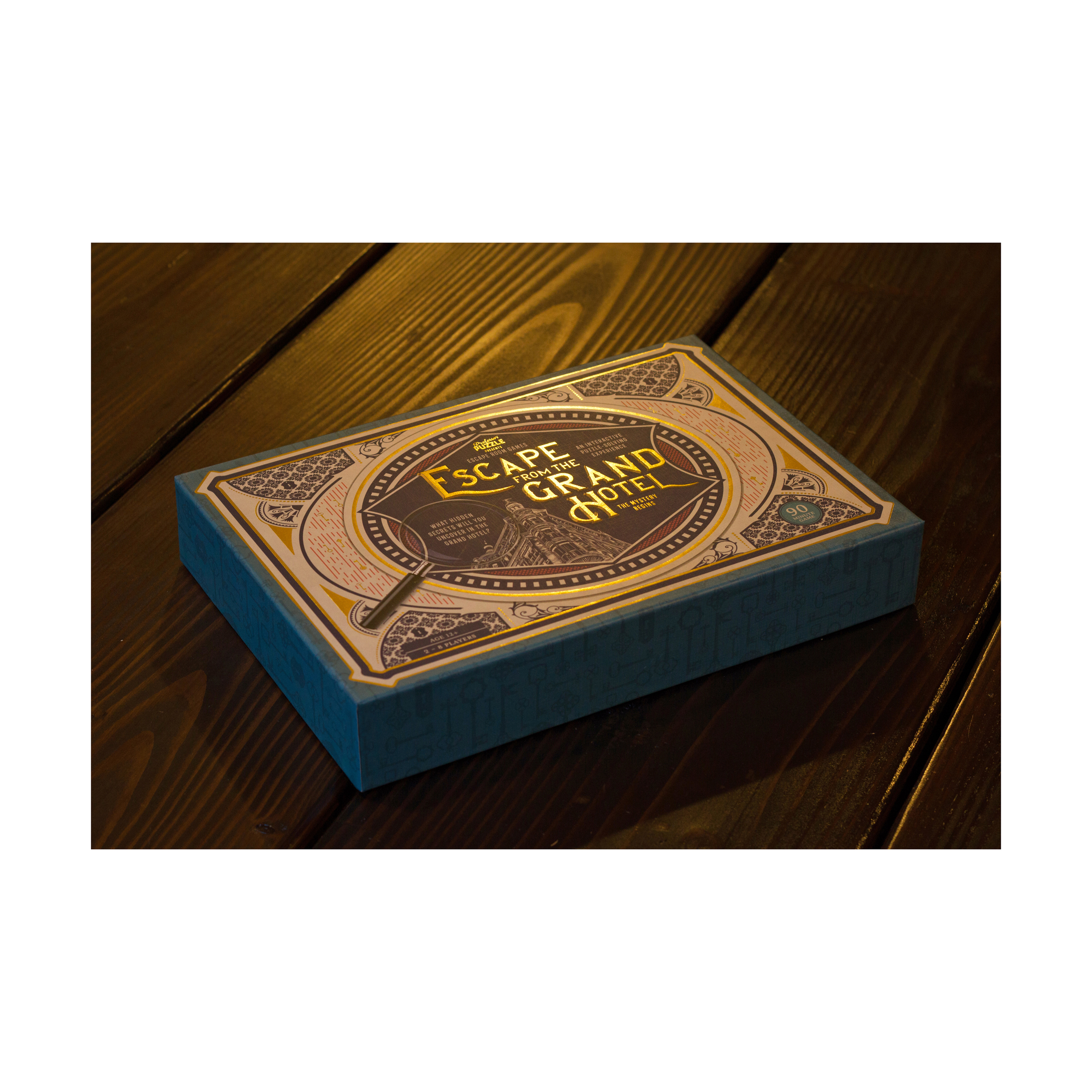 Toys Hobbies New Professor Puzzle Escape From The Grand Hotel Game Brain Teasing Game 360mediath
